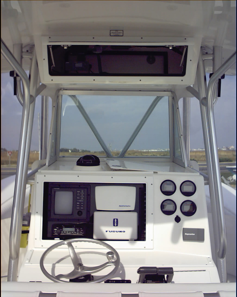 boat wheel controls