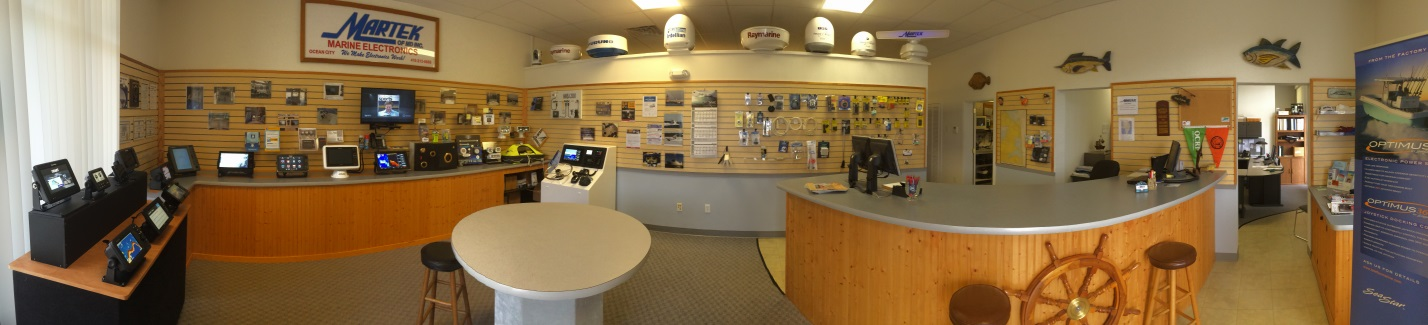 martek marine showroom