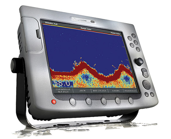 electronic fish finder